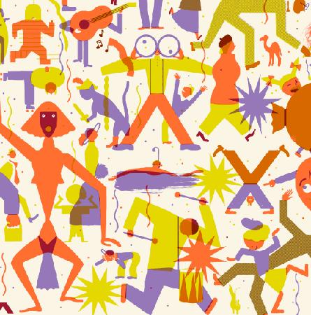 Affiche Festival Lilas-Détail
