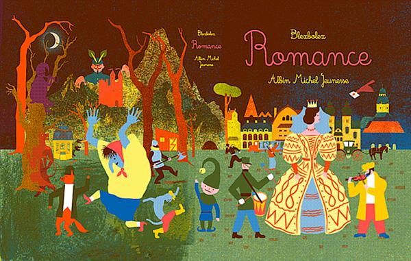 Romance-Plat de couverture Blex Bolex